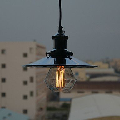 Edison Style Loft Industrial Lighting Lamp Vintage Pendant Light Fixtures Dinning Living Room Lampe Hanging
