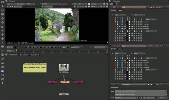 Nuke Tutorial: Chromatic Aberration | VFX in Nuke