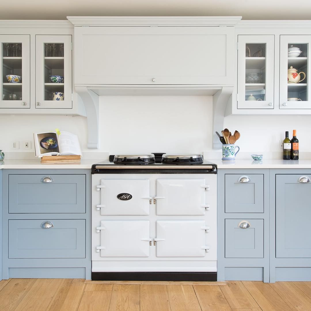 The Shaker Kitchen Company On Instagram We Are Thrilled To Announce That We Will Be Returni Blue Kitchen Cabinets White Shaker Kitchen Kitchen Cabinet Design