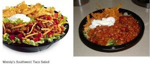Fast Food Advertising Vs Reality Full Series Random Pinterest - Fast food ads vs reality the truth unveiled by these photos
