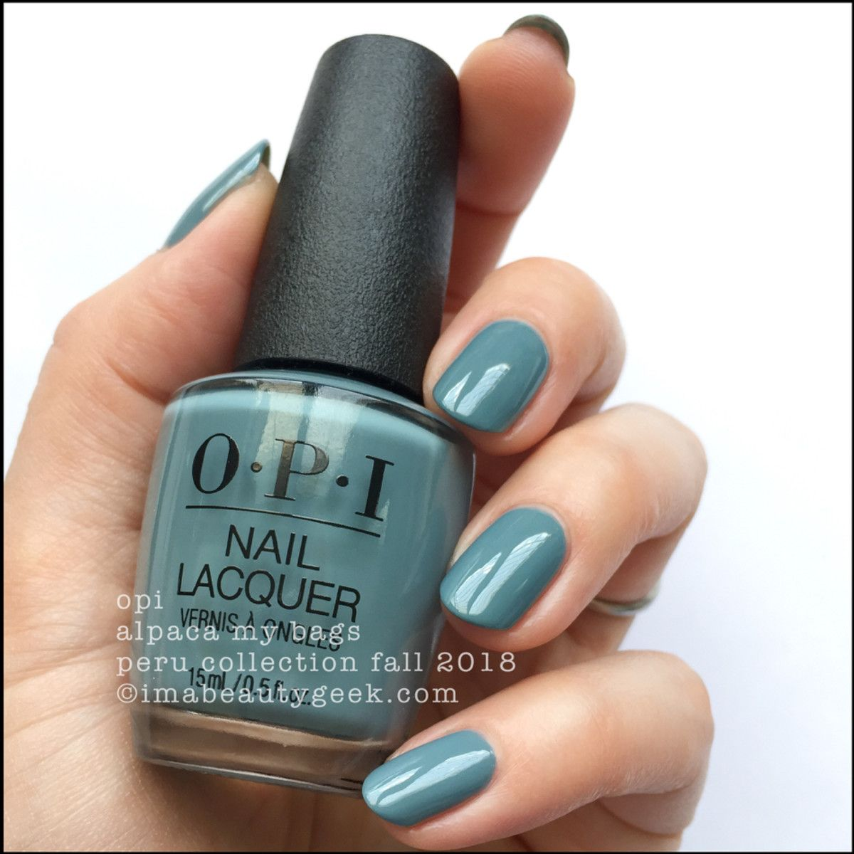 OPI PERU SWATCHES & REVIEW FALL 2018
