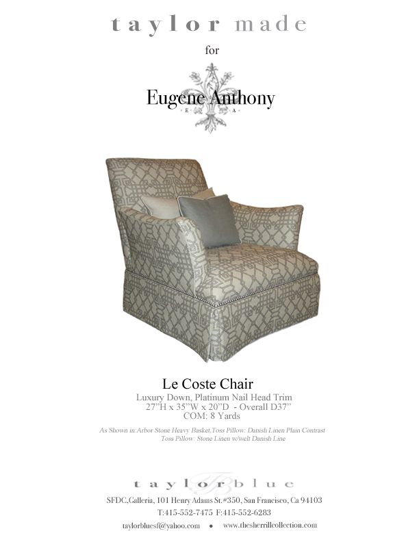 Le Coste Chair