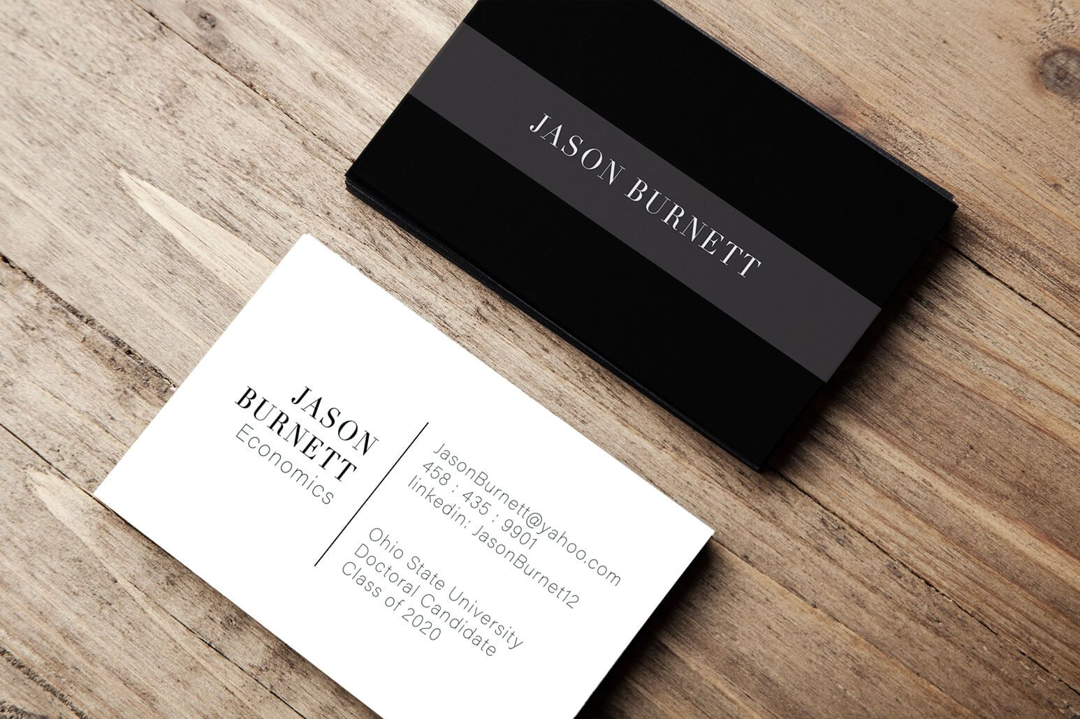 College Student Business Card Example Gallery Student Business Cards Examples Of Business Cards Personal Business Cards