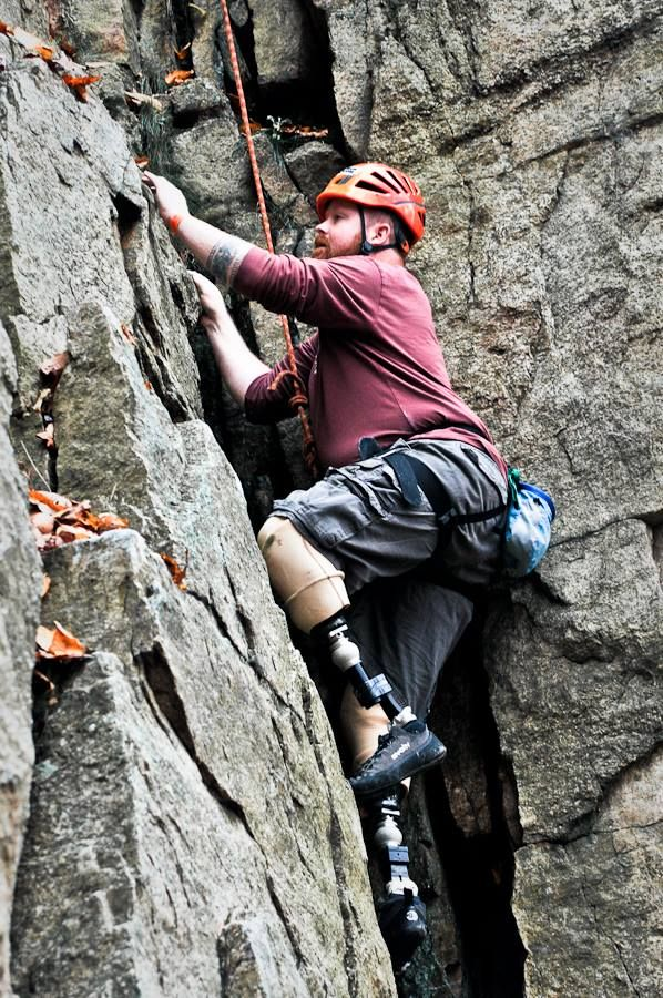 This rock climber. (image)