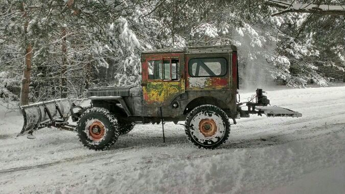 Cold Weather Use Old Jeep Vintage Jeep Classic Jeeps