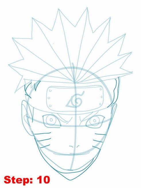 How To Draw Naruto Step By Step Mit Bildern Zeichnen Malen