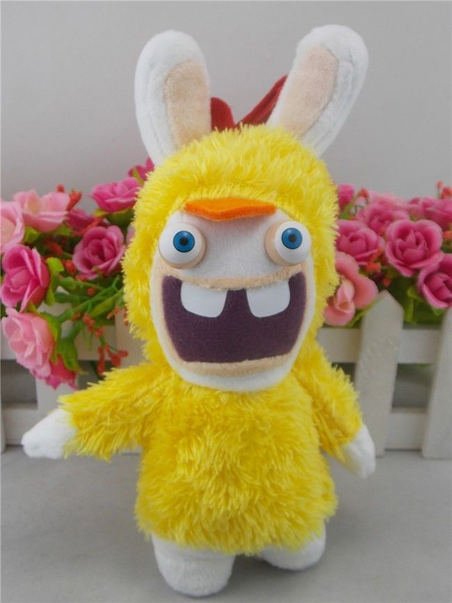 rayman raving rabbids yellow 8 plush - Raving Rabbids Halloween Costume