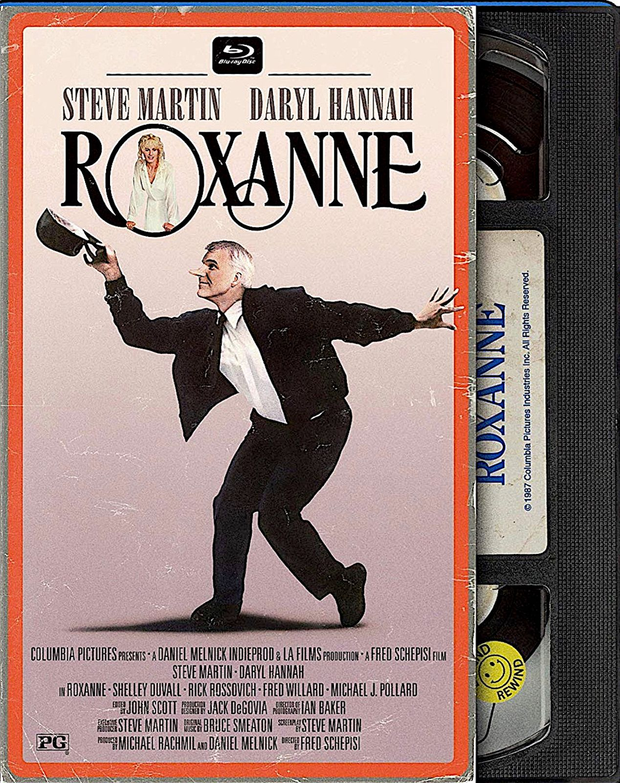 ROXANNE RETRO VHS LIMITED EDITION SLIPCOVER BLURAY (MILL