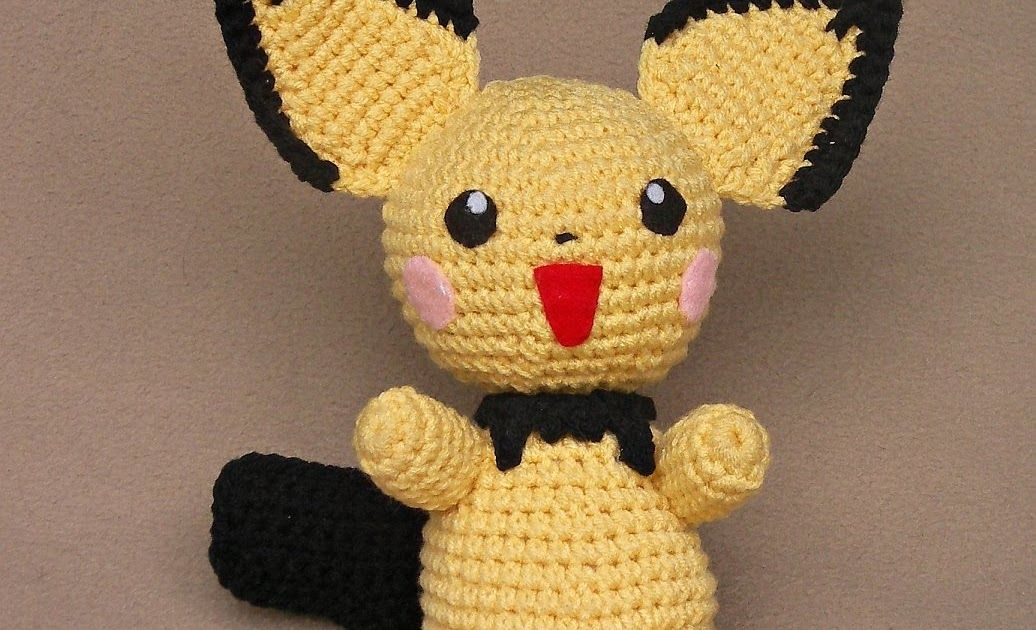 WolfDreamer: Pichu Plush & lots more pokemon | Pokemon Crochet ...