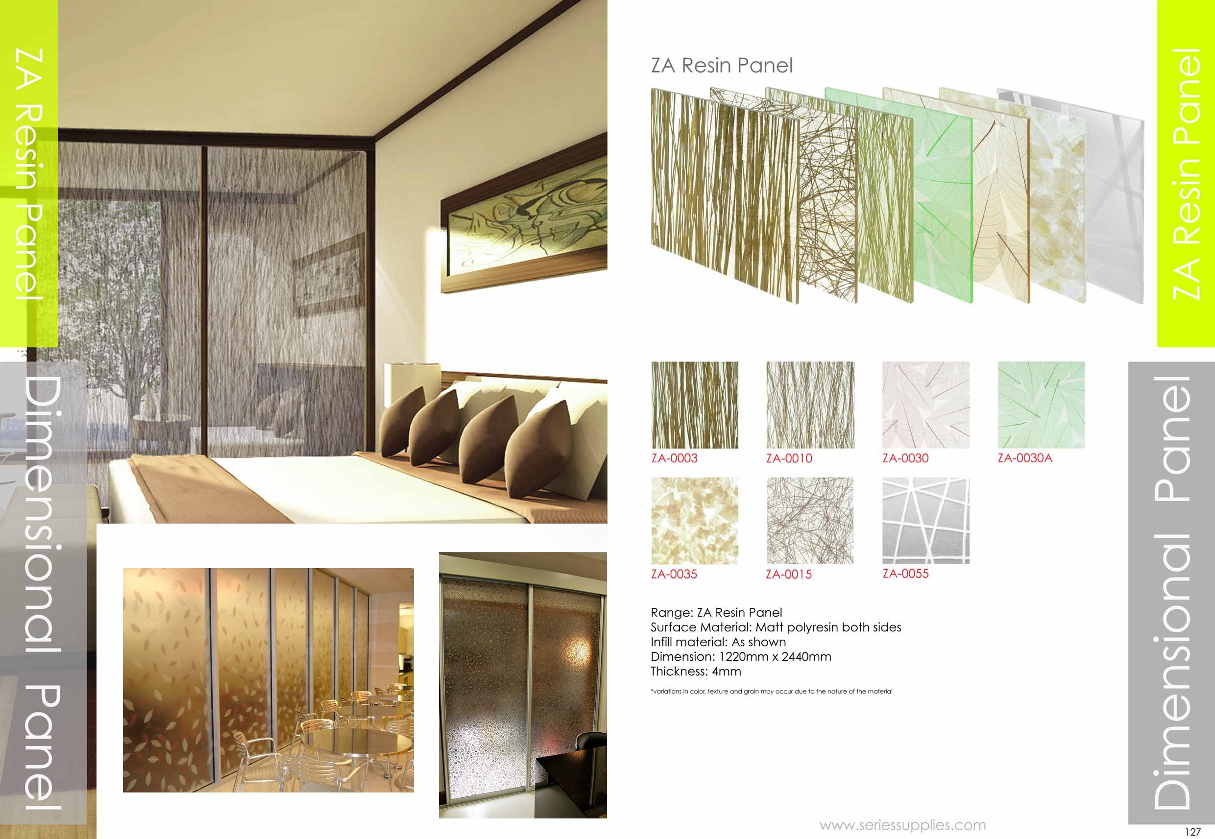 Translucent Resin Panels Are Used In Architectural Design Work As