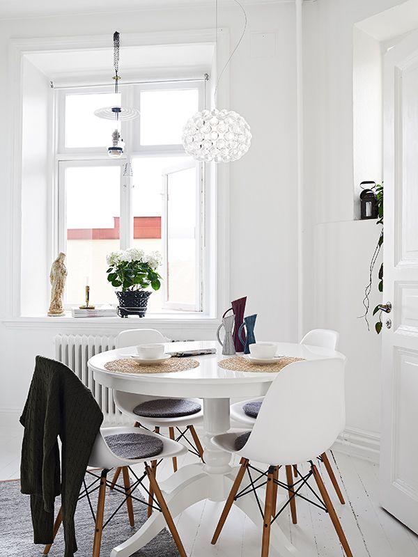 Comedores con encanto la garbatella blog de decoraci n - Comedores estilo nordico ...