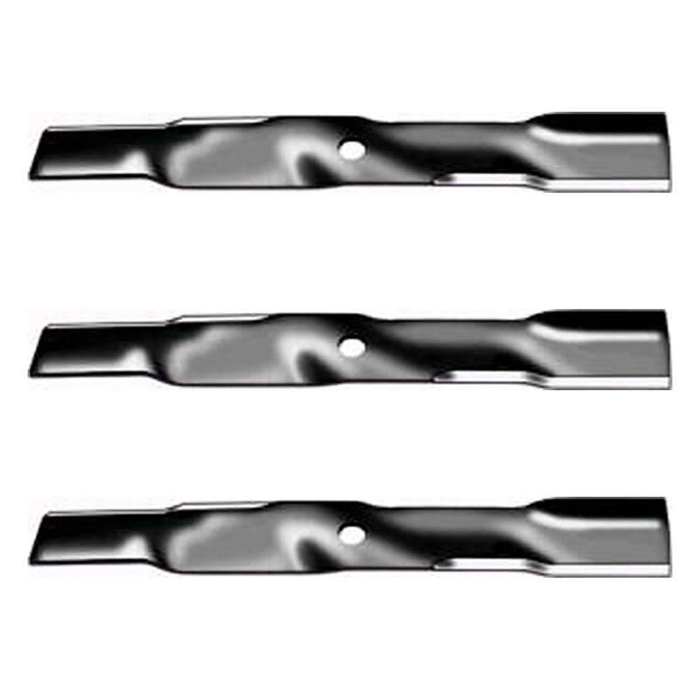 Set of 3 Blades MTD Cub Cadet RZT-L54 XT1-LT54 XT1-GT54 Mowers 942-05056A 14907