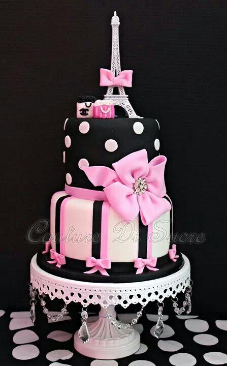Tremendous Paris Paris Themed Cakes Paris Birthday Cakes Cool Birthday Funny Birthday Cards Online Fluifree Goldxyz