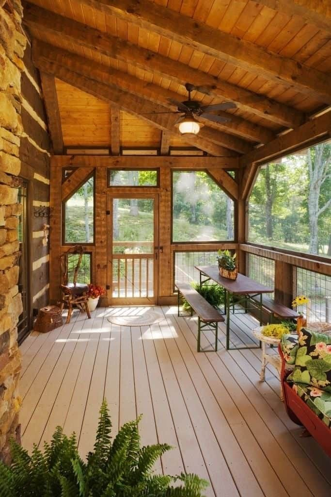 Pin By Ea Forghani On For The Home In 2020 House With Porch Backyard Patio Porch Design