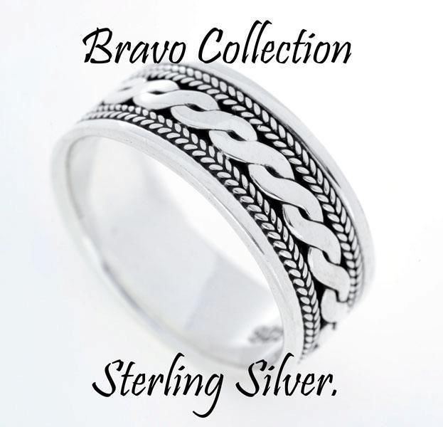 SIZE 13 Finely Made Hallmark 925 Solid Sterling Silver New