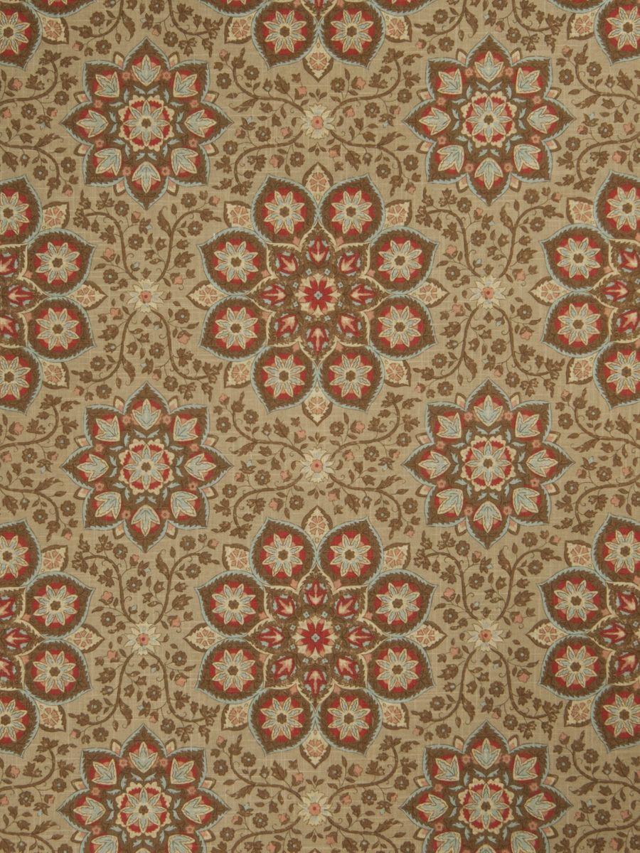 Home Decor Print Fabric  Jaclyn Smith Analyze Scarlet