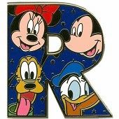 Alfabeto de Mickey, Minnie, Donald y Pluto.