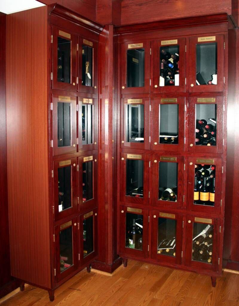 Wine Lockers Mortons Concept Add Frosted Glass Jp With Images Wine Cellar Design Custom Wine Cellars Wine Cellar