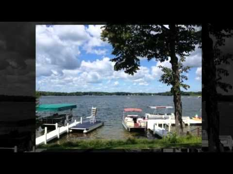 Video: Lake Beulah Lakefront Home for Sale - East Troy, WI.  Everything you could want in a custom built lake home. Location, 2 piers, lots of sq. footage and 123' of prime lake frontage.