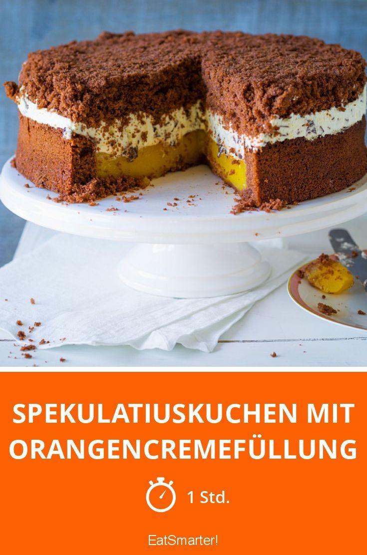 spekulatiuskuchen mit orangencremef llung rezept kuchen rezepte orangentorte spekulatius. Black Bedroom Furniture Sets. Home Design Ideas