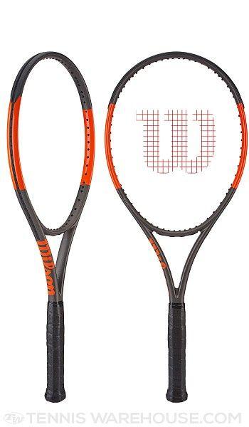 Wilson Burn 100s Countervail Racquet Racquets Tennis Gear Tennis Equipment