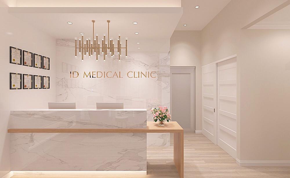 Id Cosmetics Clinic Home Id In 2020 Clinic Interior