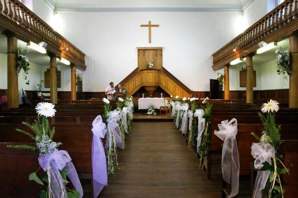 Deco eglise mariage simple - Decoration eglise mariage ...
