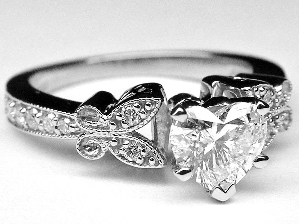 butterfly ring - Butterfly Wedding Ring