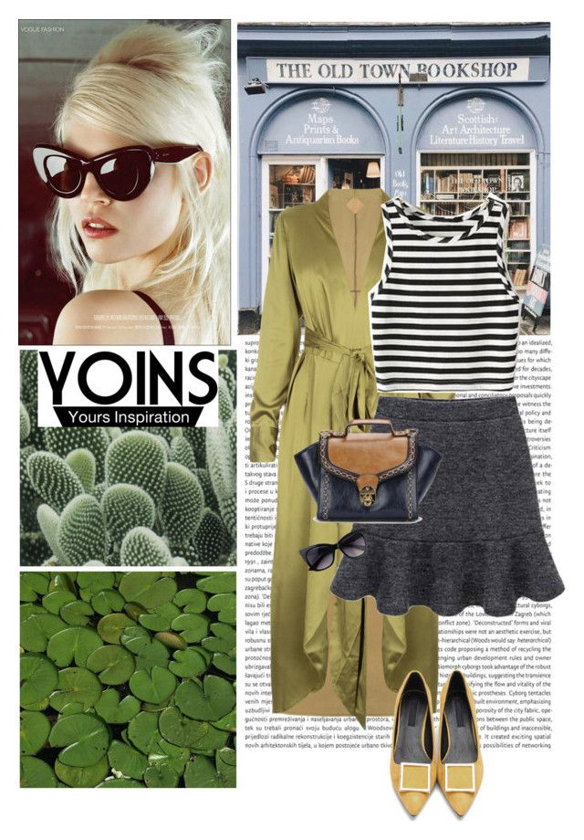 """yoins"" by ivonce ❤ liked on Polyvore featuring GET LOST, PLANT, yoins, yoinscollection and loveyoins"