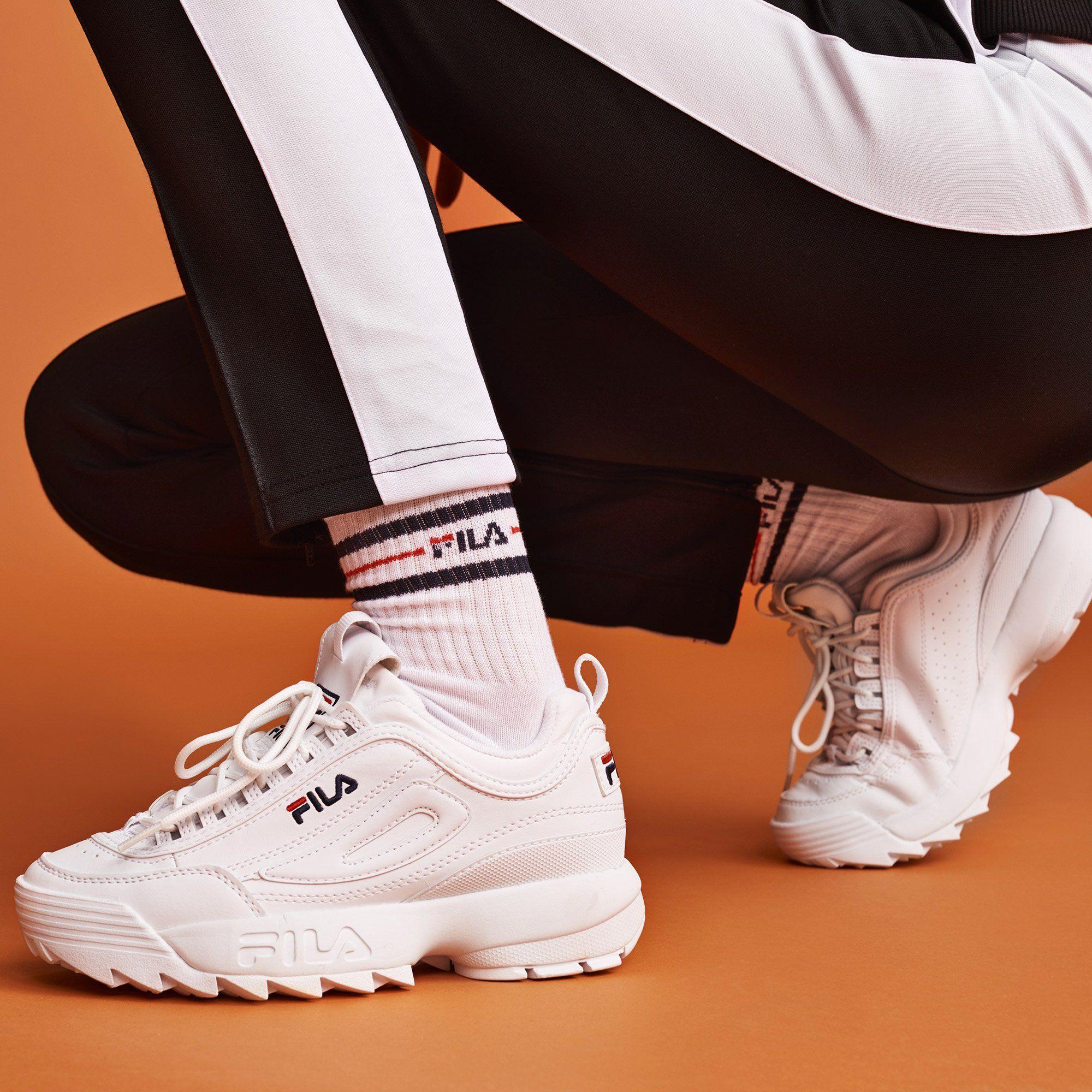 7fb92eb740bcc0 Des baskets Fila automne hiver Chaussure De Marque Femme, Chaussure Femme  Tendance, Chaussure Mode