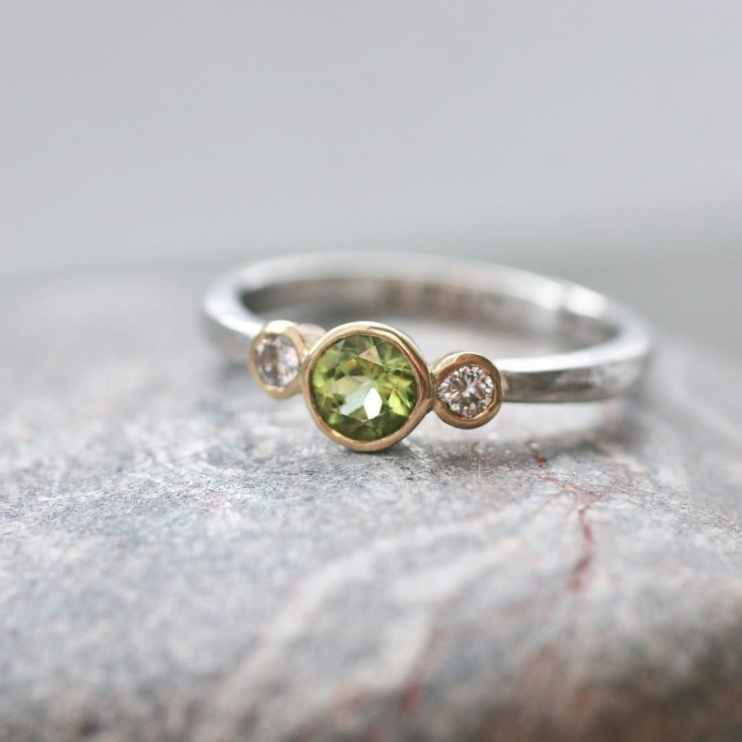 ethical glass diamond rings ring engagement jewellery fairtrade friendly sea wedding eco recycled home handmade teague
