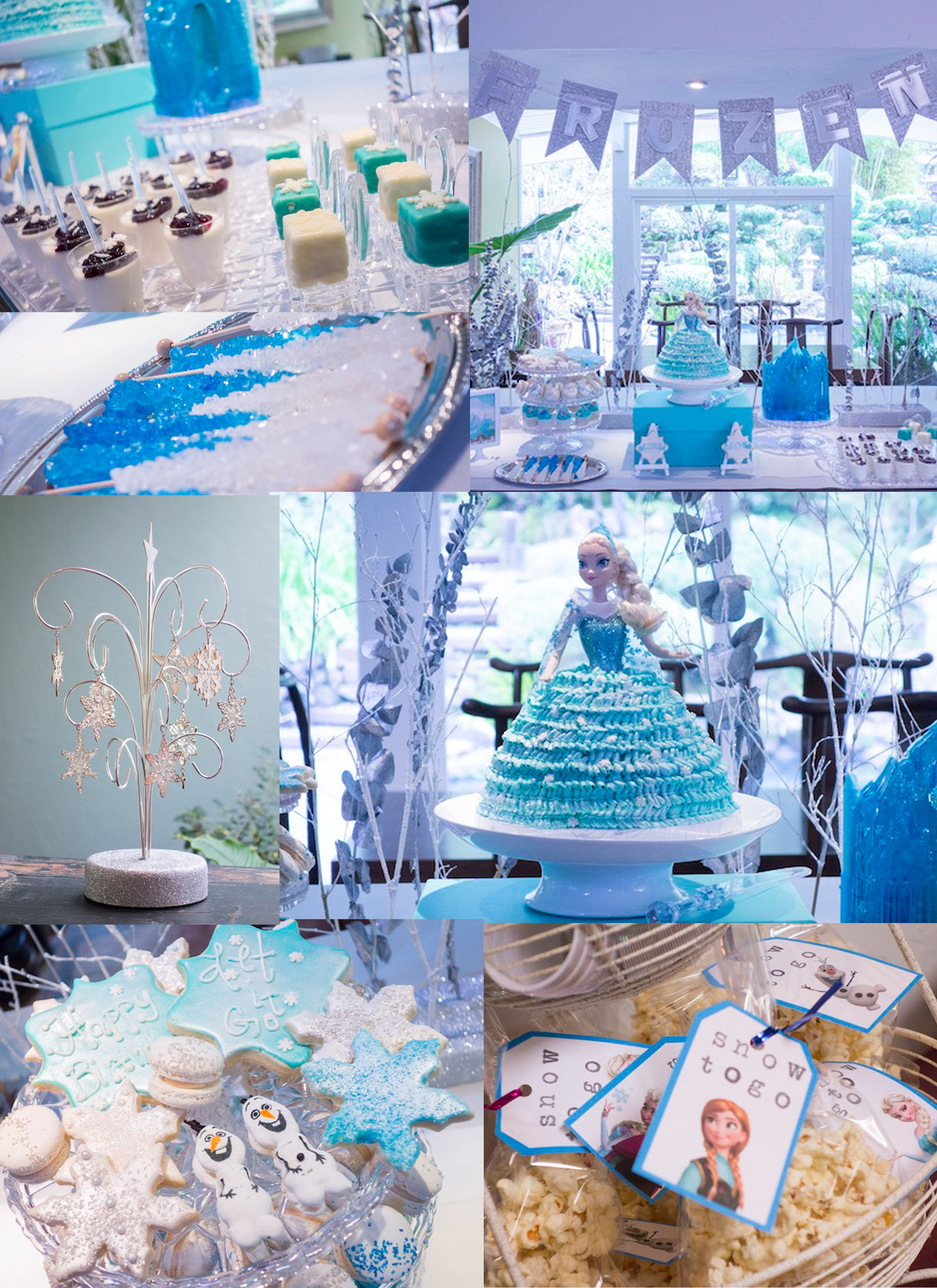 Frozen Birthday Party Ideas #frozen #birthday #party #disney #birthdayparty #frozenparty