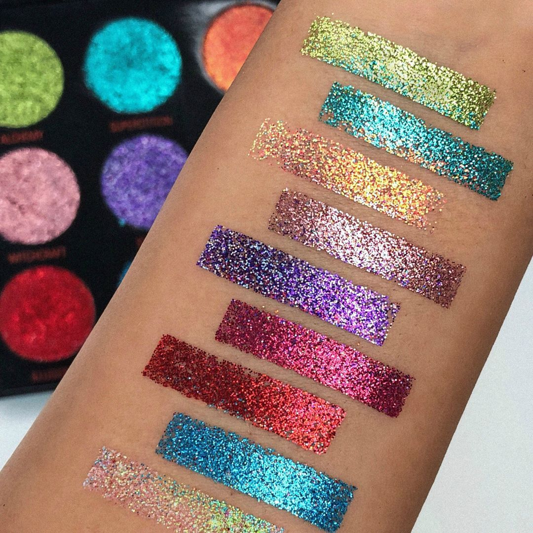 REVOLUTION owlailaaa swatches our NEW intensely pigmented