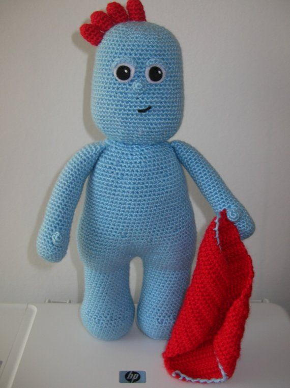 Iggle Piggle Pdf Crochet Pattern Soft Toys Pinterest Pdf