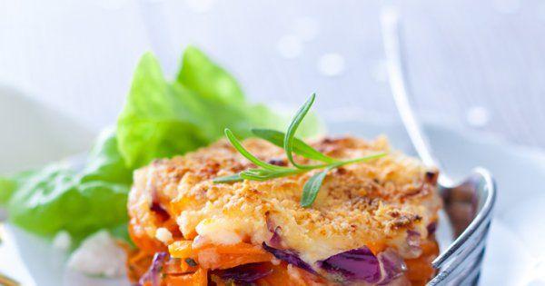 Crumble de carottes confites au parmesan   Carottes ...