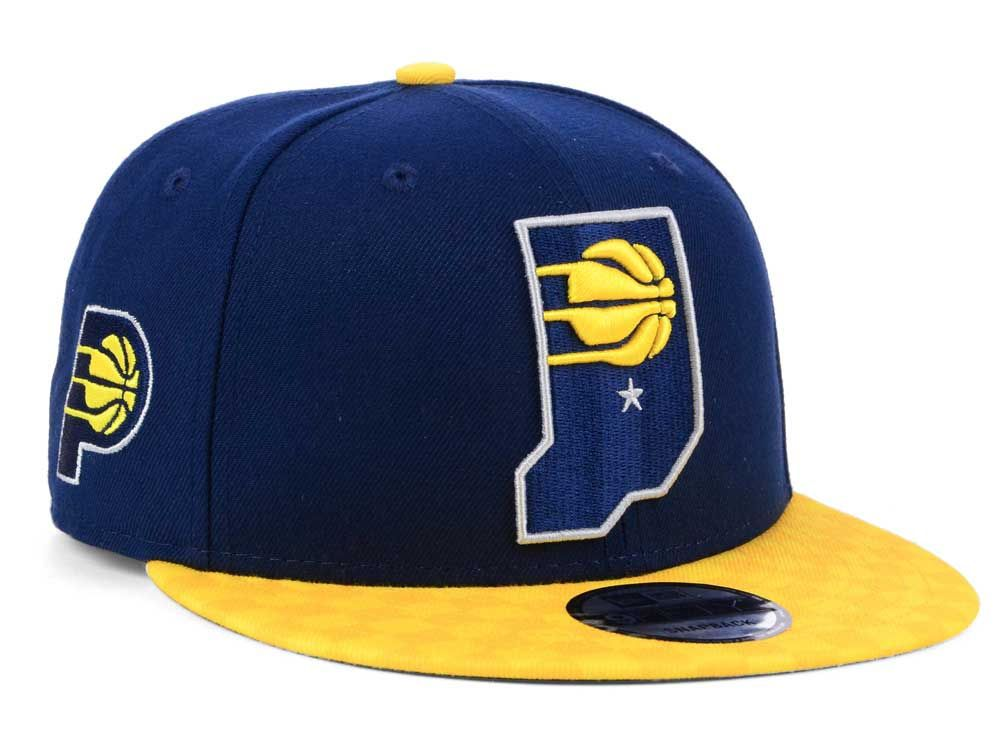 differently 3a2b3 d7679 Indiana Pacers New Era NBA City Series 9FIFTY Snapback