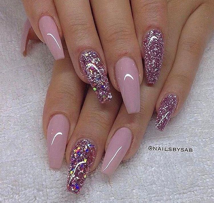 Chic Diamond Acrylic Arcylnails Gelnails Acrylicnails Glam Glitter Luxury Nail Nailart Nailpolish Nails Nailswa Gorgeous Nails Nail Designs Nails