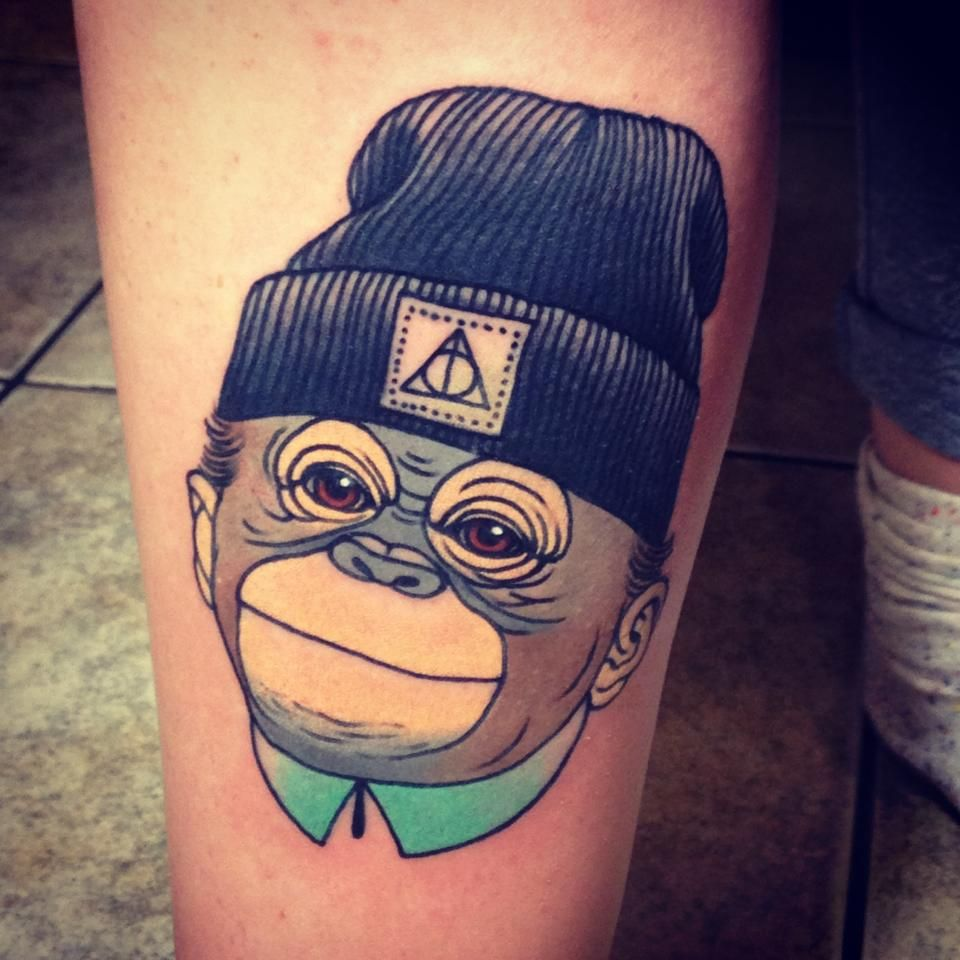 no hear monkey animal tattoo | cool tattoos | pinterest | animal