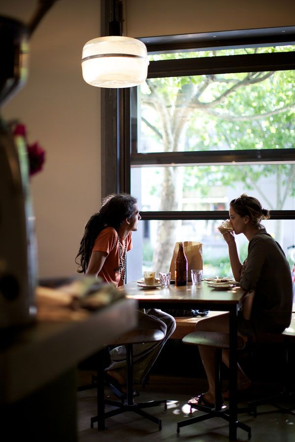coffee shop dating