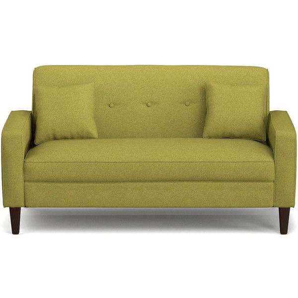 Luxe 2 Seat Sofa Slipcover 78 Trenda (1,130 Cad) Liked On Polyvore Featuring Home ...