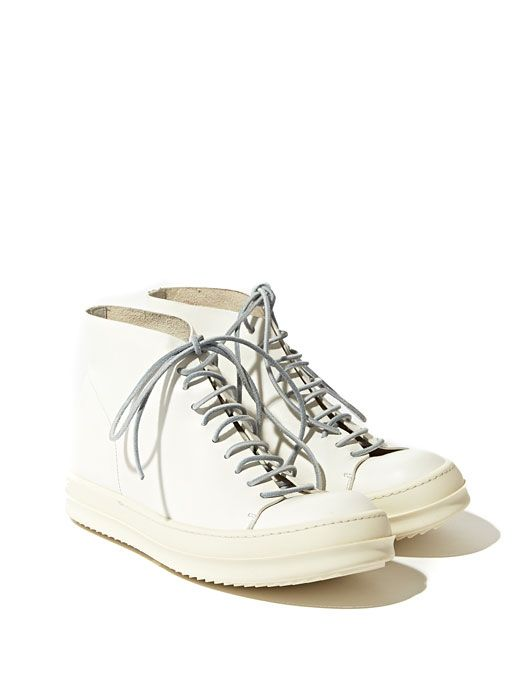 Rick Owens Women's Leather Vicious Dunk Sneakers