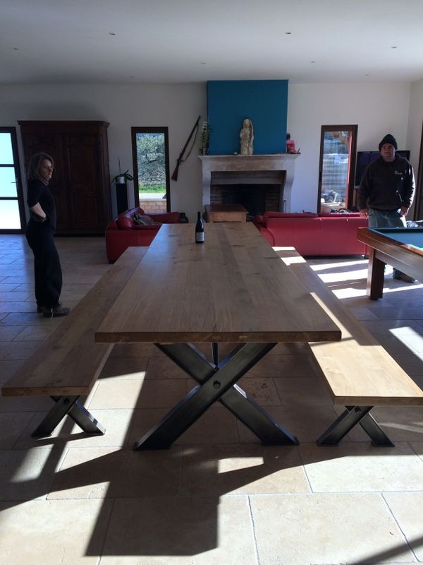 grande table de salle a manger