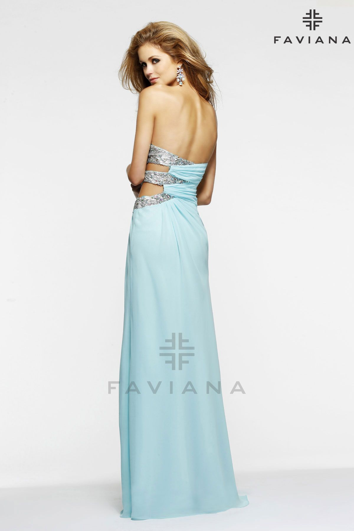 Hannah\'s Boutique Chicago | Faviana Prom Dresses 7304 ...