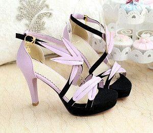 Women new fashion Summer 10cm high heel open toe 3.5cm platform sandals shoes large plus size 40-43