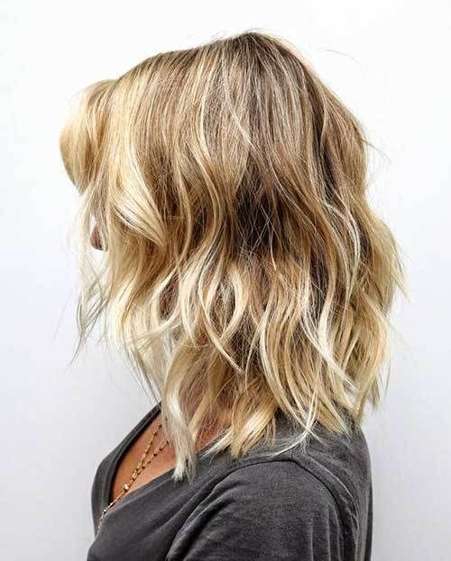 Short Medium Brown Hair With Blonde Highlights Best Short Hair Styles