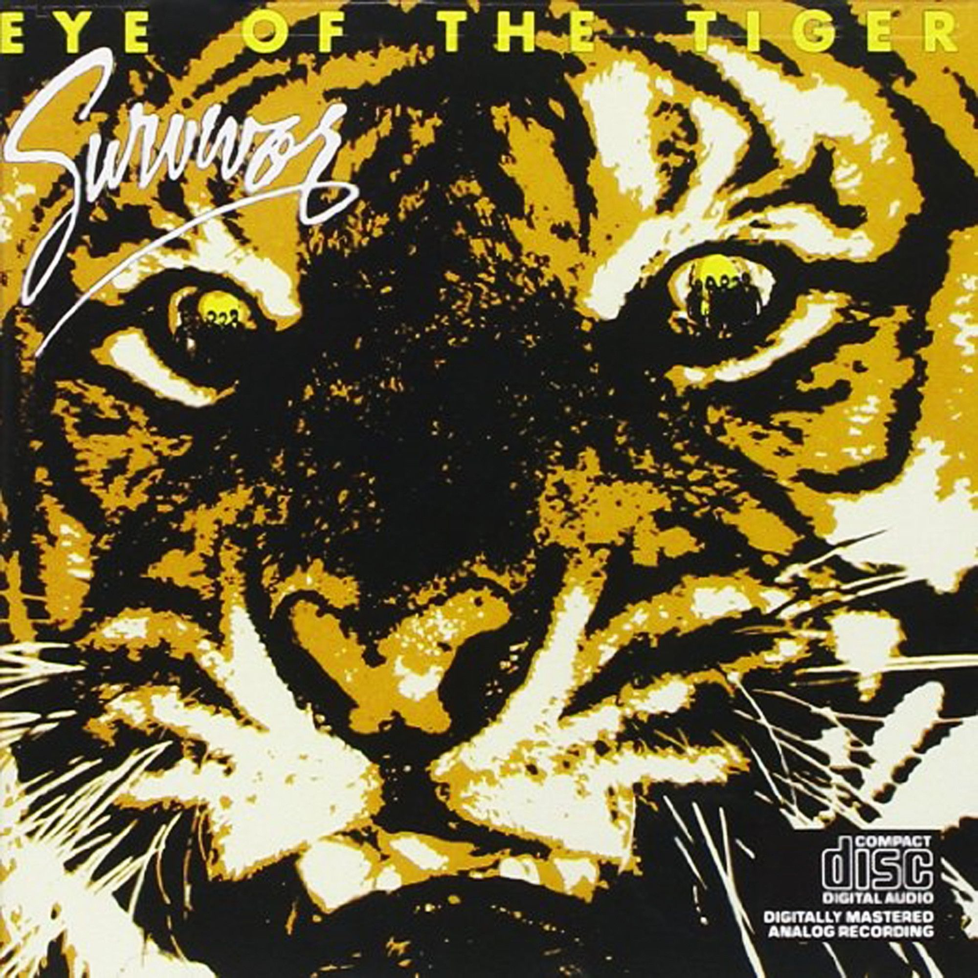 Remarkable Survivor Eye Of The Tiger Cd Eye Of The Tiger Products And Eyes Hairstyle Inspiration Daily Dogsangcom