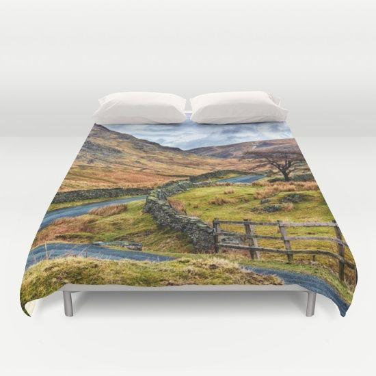 The Winding Way duvet cover