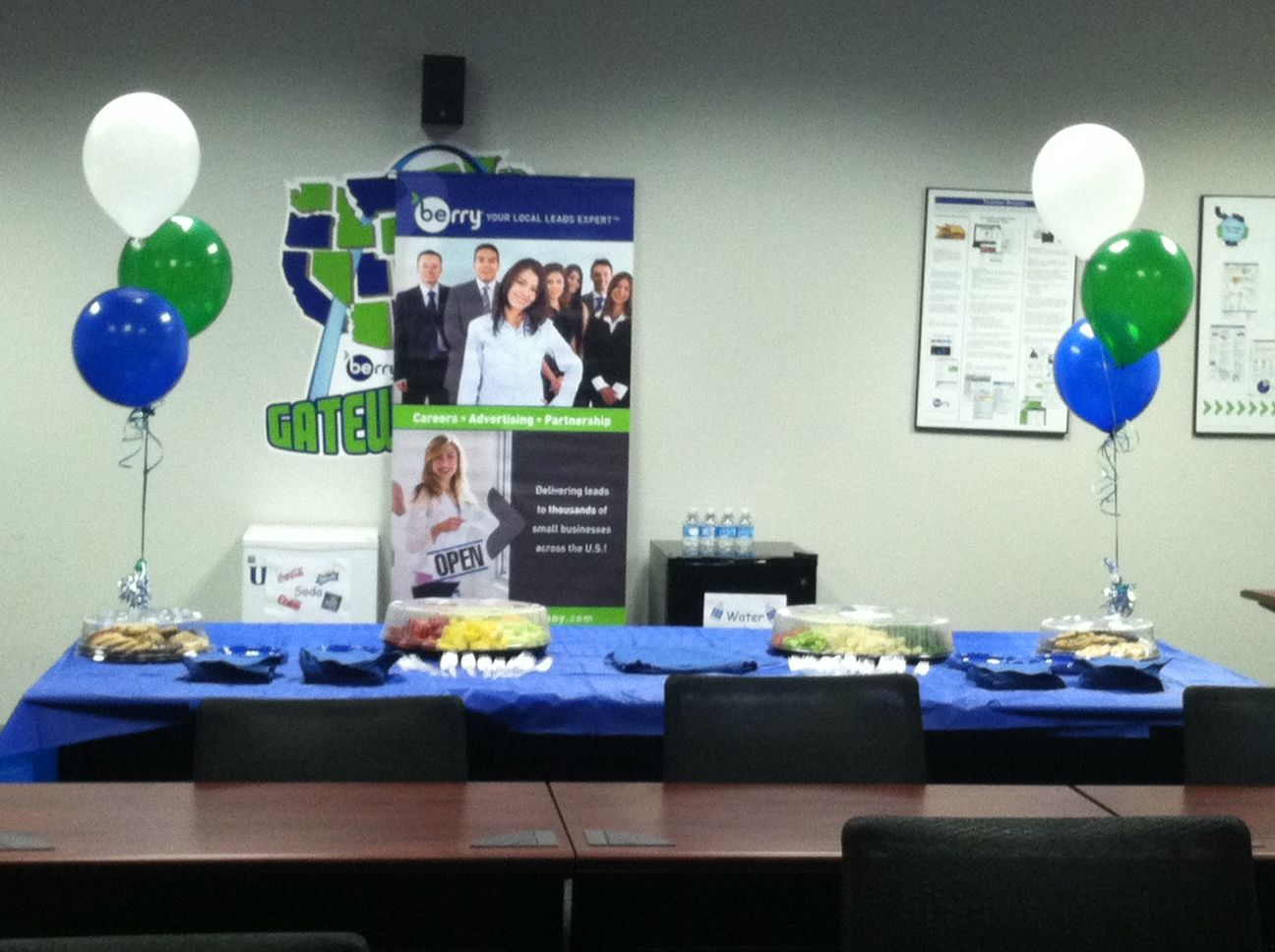 Career fair that was hosted in our St. Louis, MO office