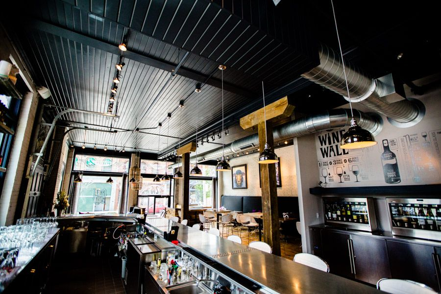 The 10 Best Cocktail Bars in Milwaukee -- Interior of Black Sheep
