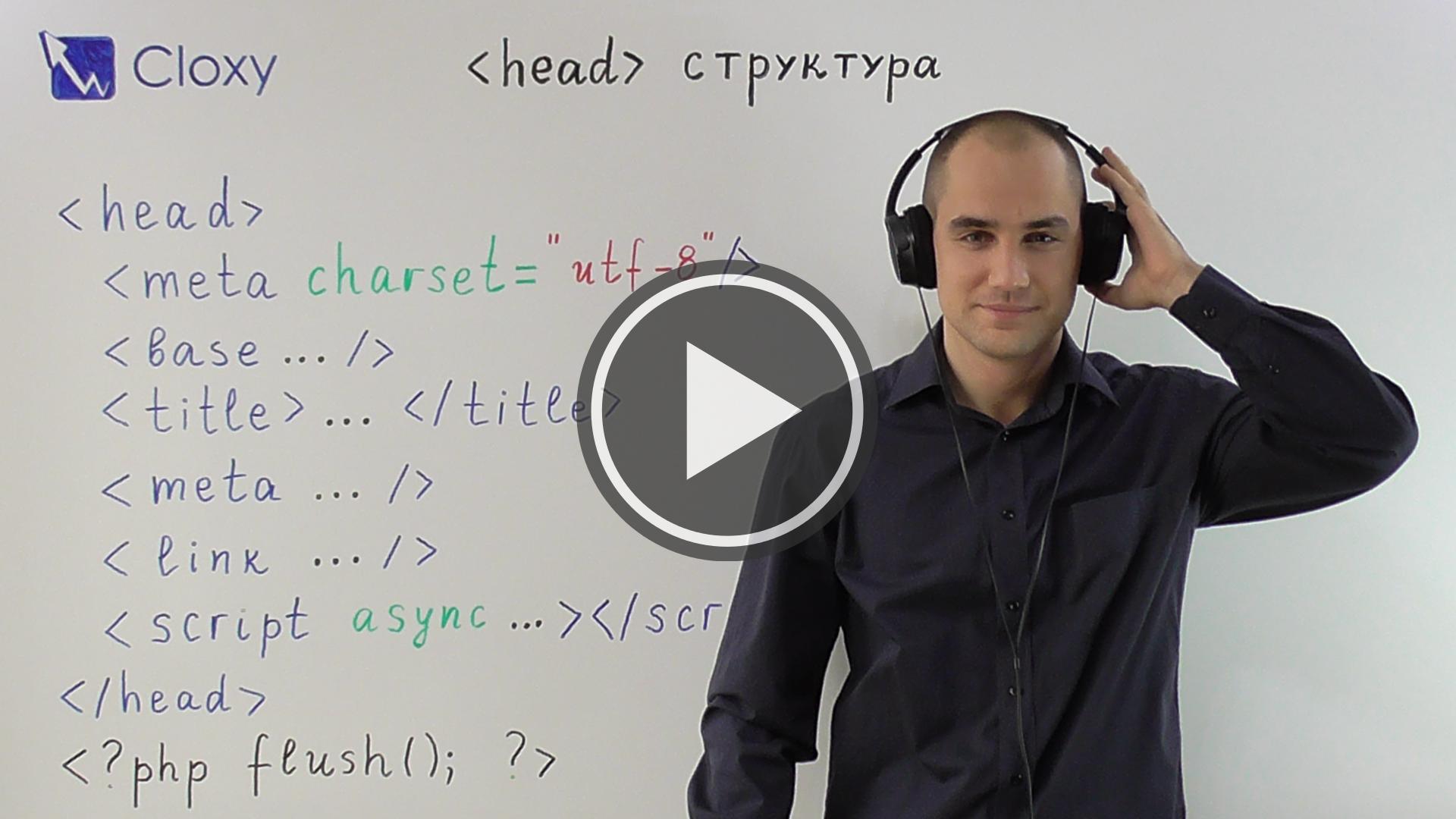 Правилно структуриране на <head> html tag